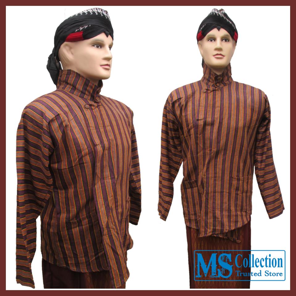 Setelan Busana Adat Jawa Bsc 0528 Ms Collection